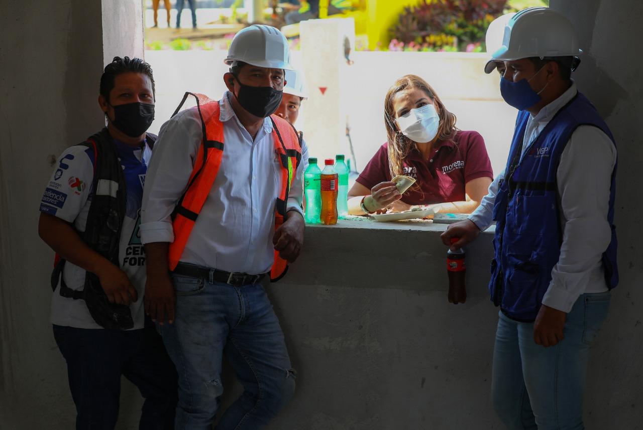 ALBAÑILES, CONSTRUCTORES DE LA TRANSFORMACIÓN: MARA LEZAMA