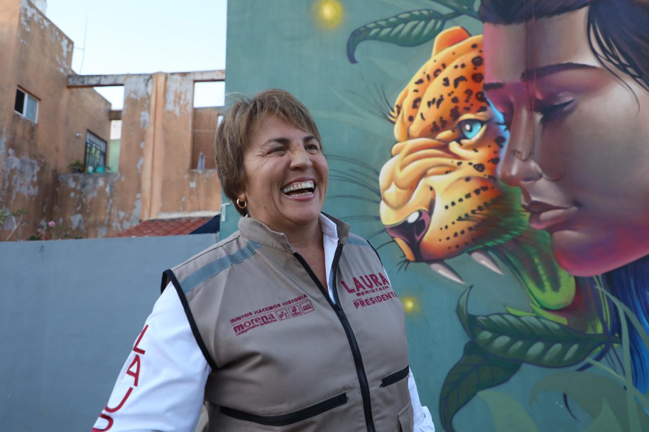 Solidaridad es territorio Morena: Laura Beristain