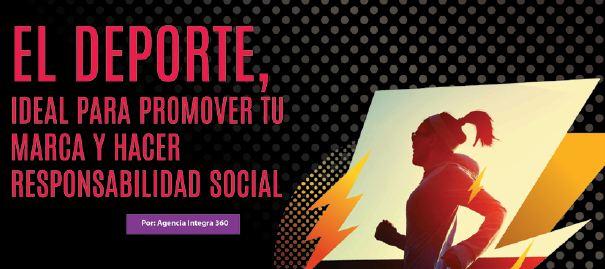 El deporte, ideal para promover tu marca y hacer responsabilidad social