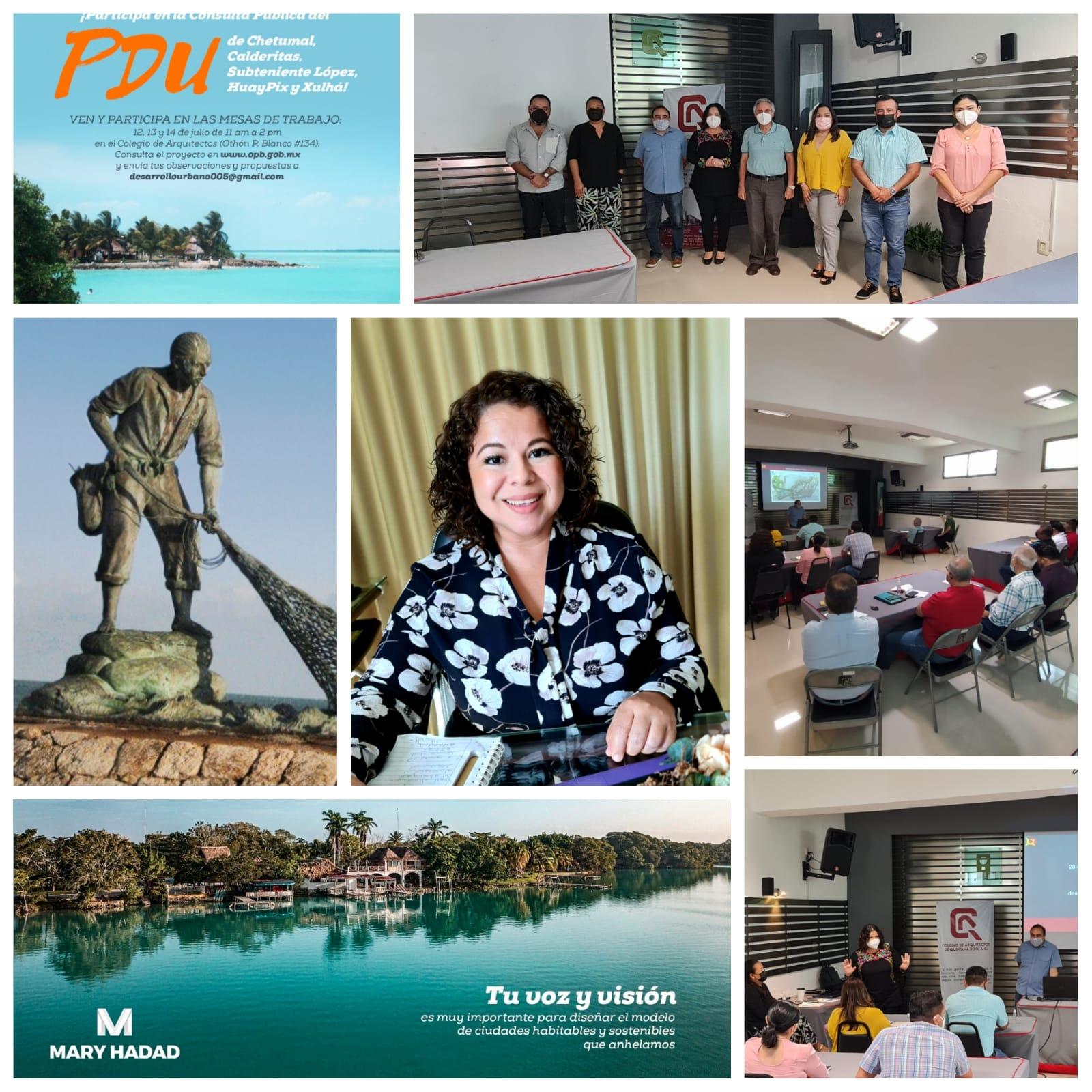 Destaca Mary Hadad participación ciudadana en consulta para integrar Programa de Desarrollo Urbano