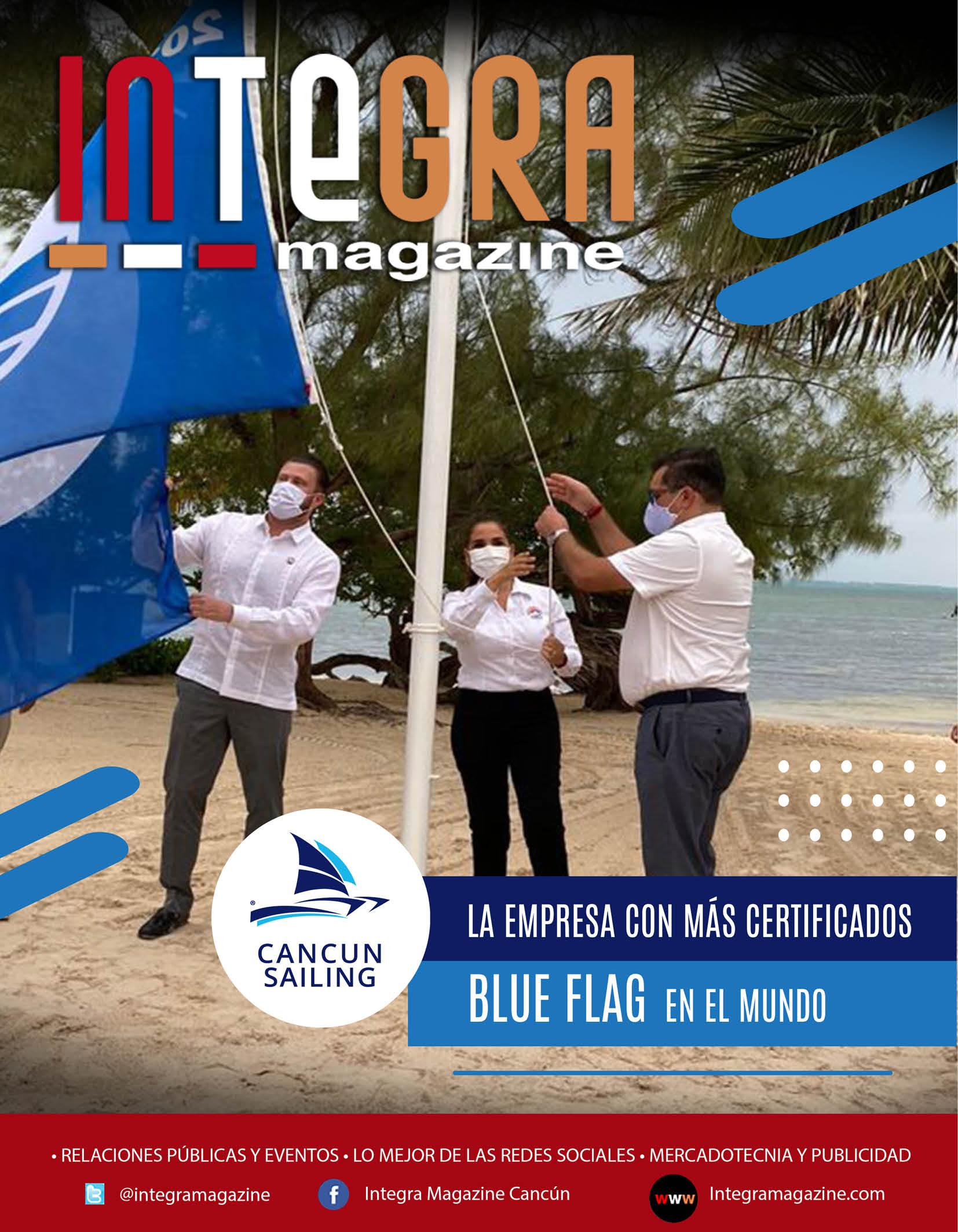 CANCUN SAILING, EMPRESA CON MÁS CERTIFICADOS BLUE FLAG EN EL MUNDO