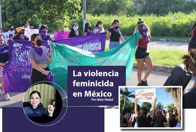 La violencia feminicida en México