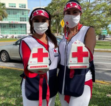 Boteos Cruz Roja mexicana