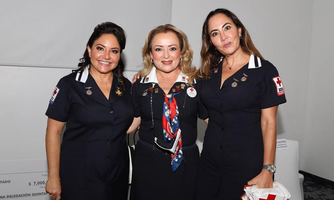 Mariana Jamit y La Cruz Roja Mexicana de Cancún